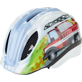 KED Meggy Trend Helmet Barn fire truck